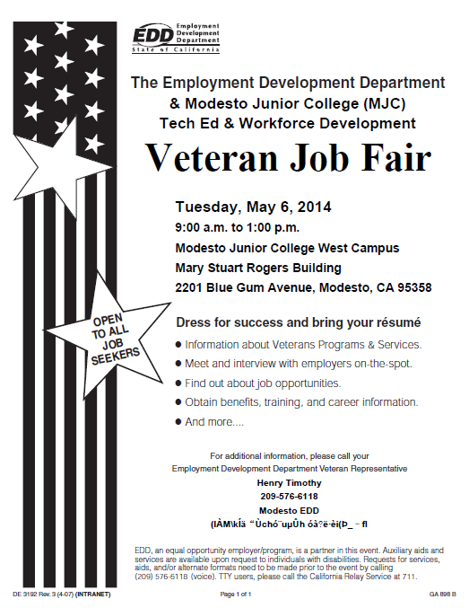 Veteran Job Fair 1