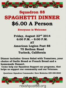 SAL Spaghetti Dinner
