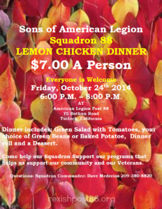 Lemon Chicken Dinner Oct 24 2014web